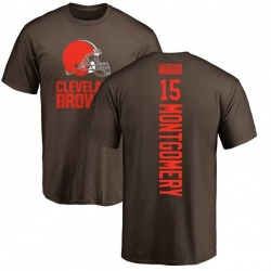 Youth D.J. Montgomery Cleveland Browns Backer T-Shirt - Brown