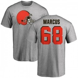 Youth Jamal Marcus Cleveland Browns Name & Number Logo T-Shirt - Ash
